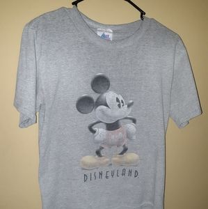 Vintage Mickey Mouse Shirt Small Grey